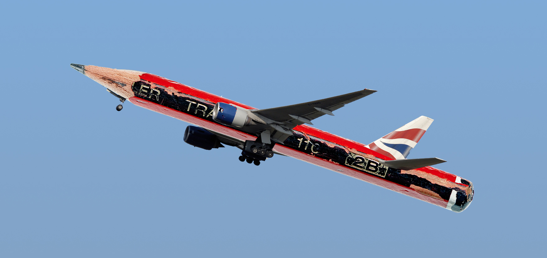 BA Pencil Plane